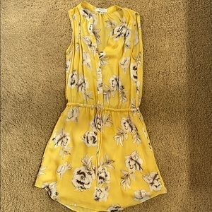 Ariztia floral yellow dress